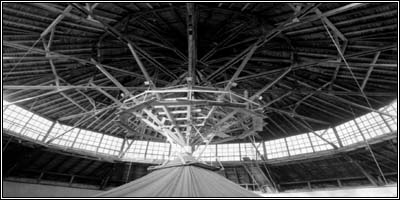 The roof design of the Innsbruck cyclorama. Photo by Egon Wurm)
